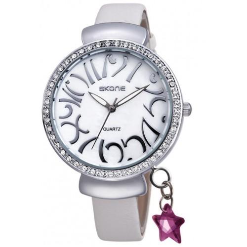 שעון נשים מודרני, מנגנון קוורץ, עדין ומיוחד, עמיד במים