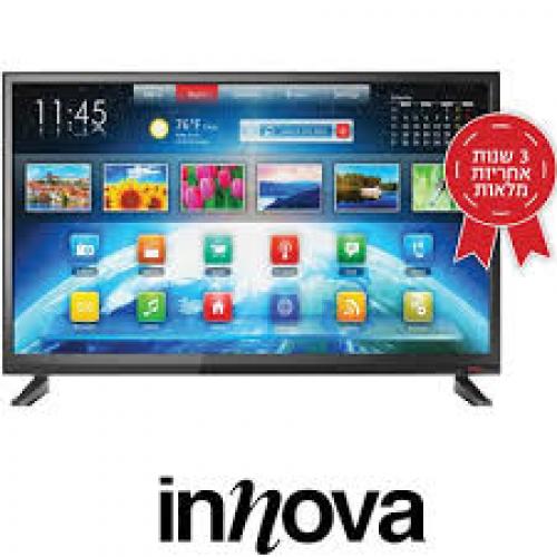 טלוויזיה חכמה עם רזולוציית אולטרה  INNOVA GL653ST2 4K 65 אינטש