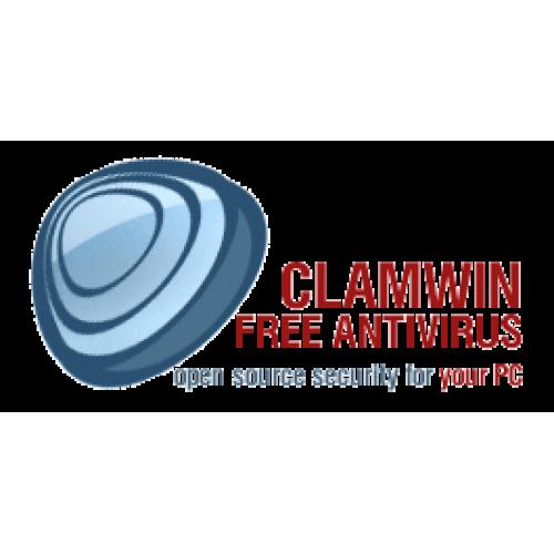 אנטי וירוס - clamWIN מבוסס על קוד פתוח.