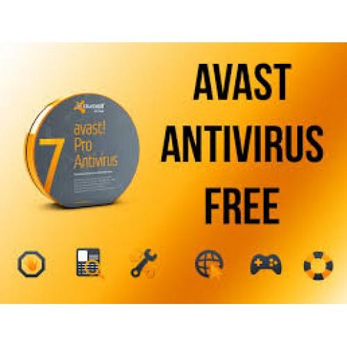 אנטי וירוס חינמי - avast